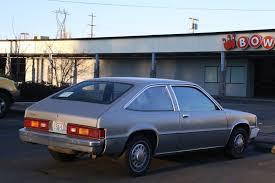 OLD PARKED CARS.: 1980 Chevrolet Citation.
