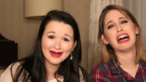 my friend sa and i pared in the no mirror makeup challenge can you apply your makeup without a mirror makeup beauty nomirror