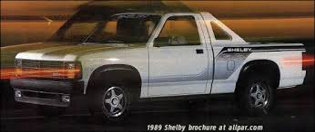 "1989 Shelby Dakota: ""rodded"" pickup trucks"
