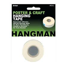 walls a double sided tape for hanging posters and craft projects removable will not damage adhesive that won t wont