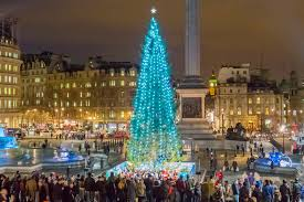 London's most beautiful Christmas trees
