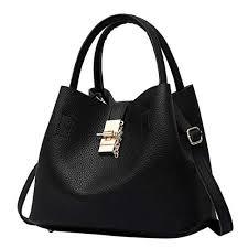 <b>Handbag</b>, TUDUZ 2Pcs Women's <b>Fashion Leather</b> Shoulder <b>Bags</b> ...