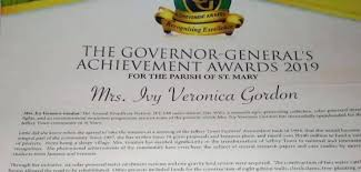 Jamaica honors Ivy Gordon of the Jeffrey... - Trees That Feed Foundation |  Facebook