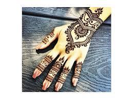 šablony Pro Tetování Hennou Na Ruce 9 Variant