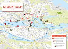 stockholm panorama  sightseeing by bus  strommase