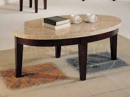 fulgurant furniture interior ideas oval cream marble coffee table