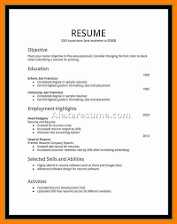 First Job Resume Examples Teen Resume Examples Letter Format