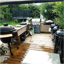 Outdoor Küche Aus Holz Beeindruckende Outdoor Küche Mauern Für Bilder Selber