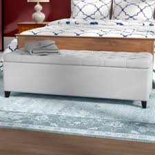 Storage benches for bedroom Ottoman Quickview Wayfair Bedroom Benches Youll Love Wayfair