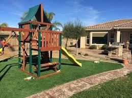 Turf Grass Lambert, Oklahoma Playground Flooring, Backyard Landscaping Ideas