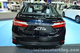 2014 Toyota Corolla Altis ESport showcased at Thailand