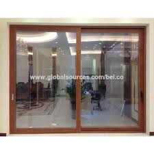 office sliding door. China Factory Price Big Frame Aluminum Heavy Interior Office Sliding Door D
