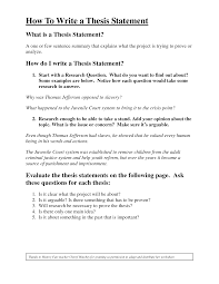 how to write a good thesisworld of writings world of writings how to write a thesis statement pdf by jess1ca shcx0dd1