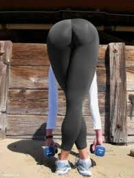 Pictures Sexy Girl Bending Over In Leggings With A Perfect