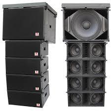 concert speakers system. china la-28 dual 8\u0027\u0027 stage line array mini pa speakers concert system