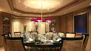inspiring high ceiling light fixtures change fixture majestic dining room decoration showcasing with beautiful chandelier feat pink shade over round dinn dining room ceiling light fixtures l89
