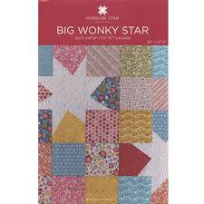 Big Wonky Star Quilt Pattern by MSQC - MSQC - MSQC — Missouri Star ... & Big Wonky Star Quilt Pattern by MSQC Adamdwight.com