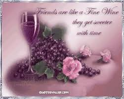 Quotes About Wine And Friendship