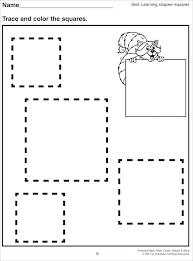 Shapes Coloring Pages For Preschoolers Colors And Shapes Tracing ...