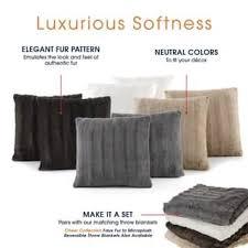 where to buy cheap throw pillows. Plain Cheap SALE Cheer Collection Faux Fur 18inch Throw Pillow Set Of 2 To Where Buy Cheap Pillows