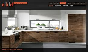 Kitchen Website Design Interior Cool Inspiration Design