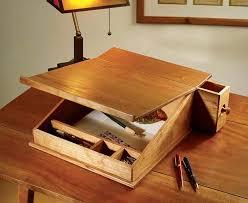 26 beautiful lap desk plans woodworking egorlin com within build a wooden design 9