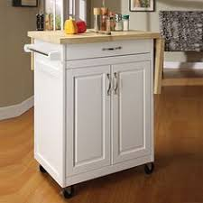 leaf kitchen cart: white finish kitchen cart with drop leaf at big lots