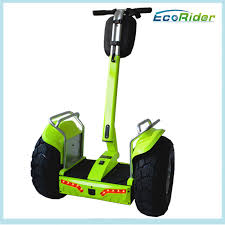segway electric off road scooter two wheel free standing 125kg max load for