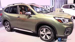 2019 subaru forester touring exterior and interior walkaround 2018 new york auto show