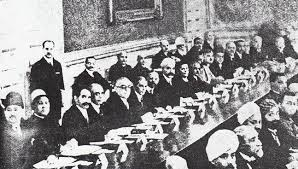 at the round table conference london 1930