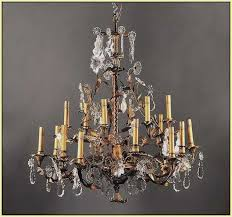 image of glass candle covers for chandeliers