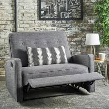 calliope oned fabric 2 seater recliner club chair by christopher knight home on today overstock 17362041