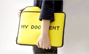 cool office supplies. 1. My Document Laptop Case Cool Office Supplies
