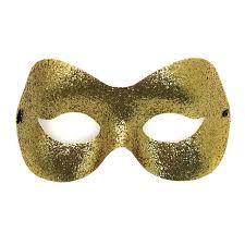Glitter Mask Designs Fashion Glitter Mask Gold