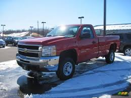 2010 Victory Red Chevrolet Silverado 2500HD Regular Cab #26595719 ...