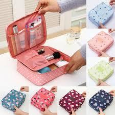 <b>Women Travel Cosmetic Makeup</b> Bag <b>Toiletry</b> Box Case <b>Organizer</b> ...