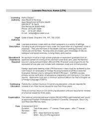 Cover Letter For Assistant Director Licensed Practical Nurse Resume