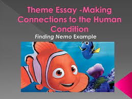 writing a good body paragraph examples from a character essay on  in the movie finding nemo the writer develops the theme of independence in order to