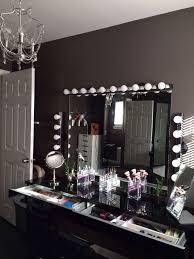 lighting for makeup table. makeup vanity mirror organize storage display ikea lighting for table