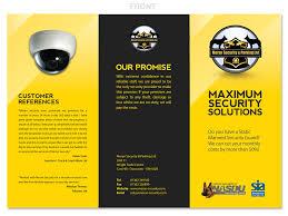 Security Designer Elegant Playful Government Brochure Design For Moran