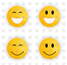 set of cheerful and sad smileys vector image vector artwork of icons and emblems to zoom