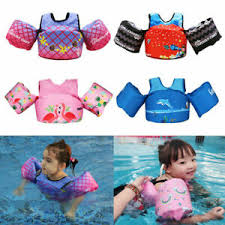 Details About Child Kids Swim Arm Band Swimming Floating Vest Puddle Jumper Safety Life Jacket