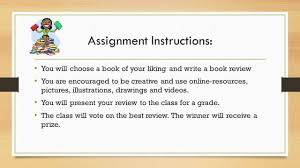 Home   History Book Review Assignment   LibGuides at University of     SlideShare book review assignment