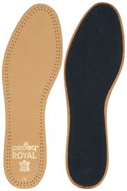 com pedag 102 royal vegetable tanned sheepskin insole with natural active carbon filter slightly padded with latex foam tan leather