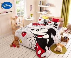 Mickey And Minnie Mouse Bedroom Decor Popular Mickey Mouse Comforter Sets Buy Cheap Mickey Mouse