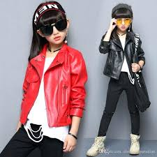 faux leather jacket for boys asymmetrical home