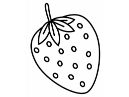 Strawberry Coloring Pages 1 Nice Coloring Pages For Kids