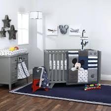 grey crib bedding mickey mouse hello world 4 piece crib bedding set grey and white elephant
