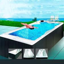Hs k609 Endless PoolSquare Above Ground PoolFlooring Around