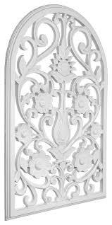american art decor arched windowpane